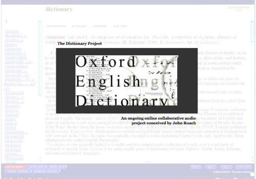 The Dictionary Project (2004)