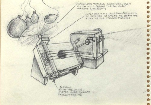 Early Instrument Sketches C.1996